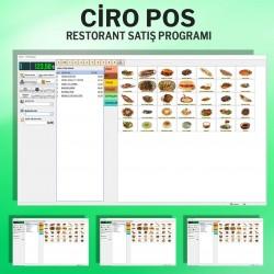CiroPos Restoran Programı