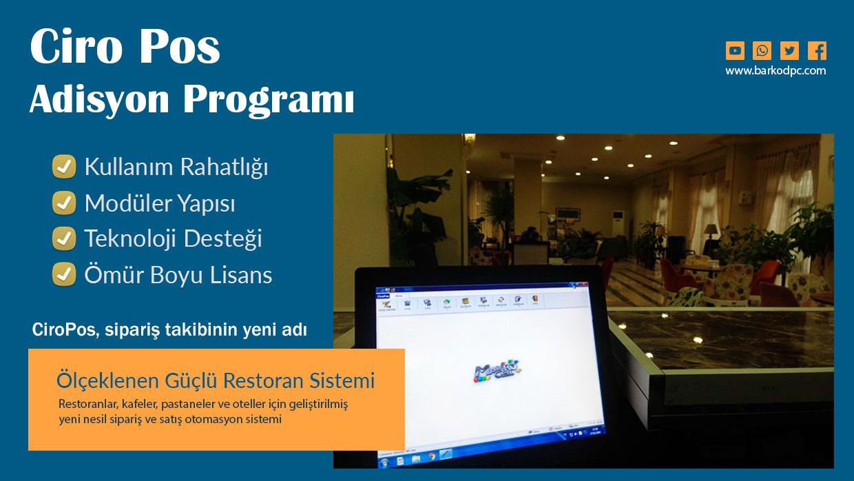 CiroPos Adisyon Programı